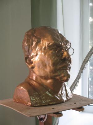 Ivan Alexandrovich Dolgorukov. Bust Lunacharsky