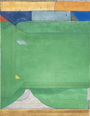 Richard Dibenkorn. Green