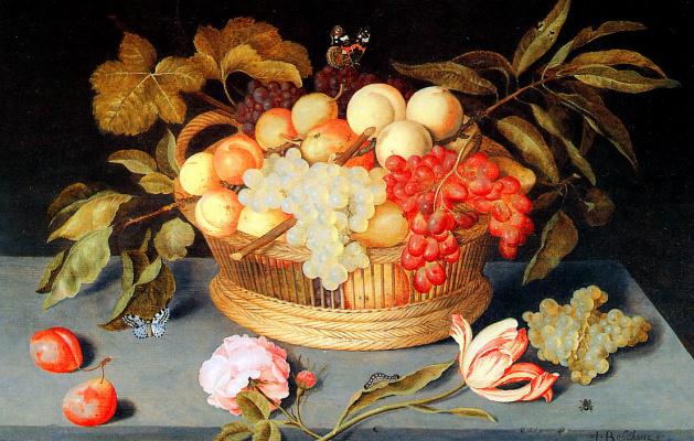 Ян Босхарт. Натюрморт с фруктами