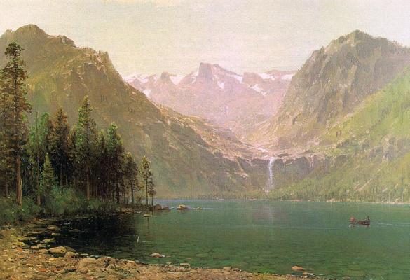 Томас Хилл. Высокие горы