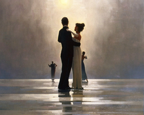 Jack Vettriano. Dance me to the end of love