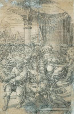 Бернард ван Орлей. Пилат умывает руки