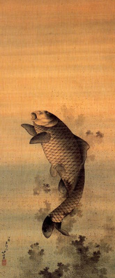 Кацусика Хокусай. Карп