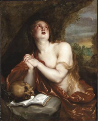 Anthony van Dyck. The Penitent Magdalene