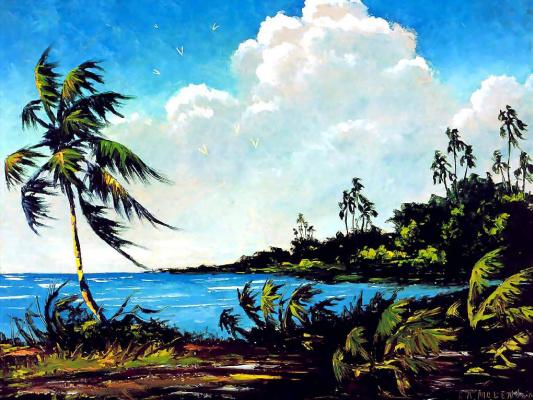 Рой Маклендон. Тропический пейзаж