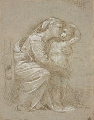 Рафаэль Санти. Мать и дитя