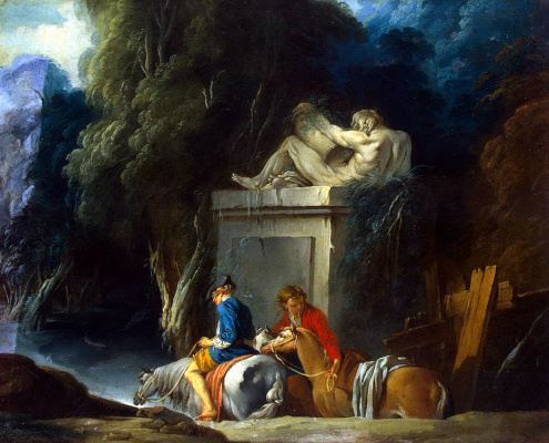 Francois Boucher. Ford crossing