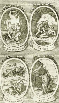 William Hogarth. Pomona and Vertumnus, Nereus, castor and Pollux, EOL