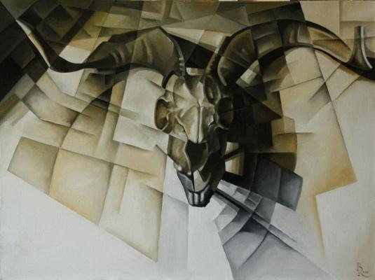 Vasily Krotkov. Symbol. Kubofuturizm
