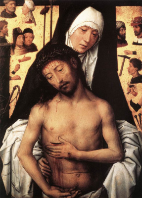 Hans Memling. Sorrowful Mother Of God