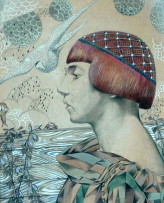 Mikhail Ivanovich the Beetle. Muminay (Portrait of Catherine Vislotska)