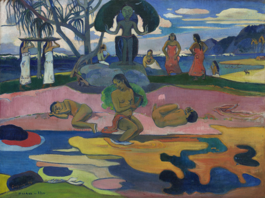 Paul Gauguin. The day of God