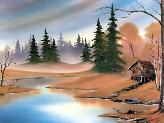 Bob Ross. Hunters Paradise