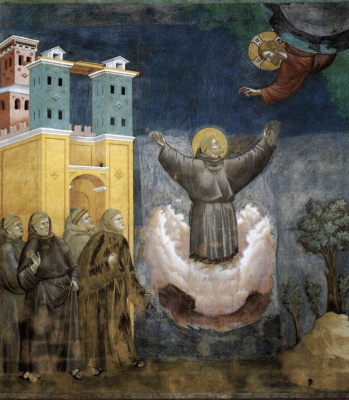 Giotto di Bondone. The Bliss of St. Francis. The Legend of St. Francis