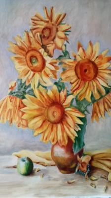 Gulnara Matyukhina. Sunflowers