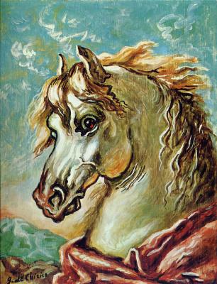 Giorgio de Chirico. Horse