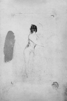 Francisco Goya. Nude