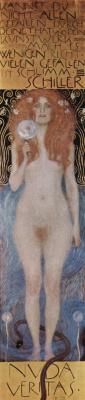 Gustav Klimt. Naked truth