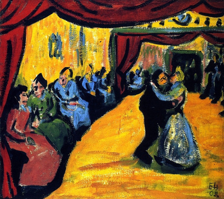 Erich Heckel. Country dance