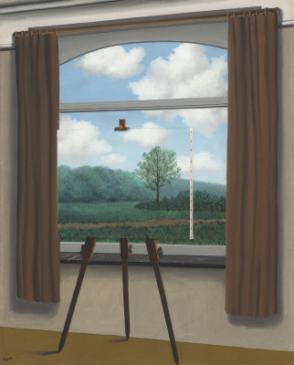 René Magritte. Human condition