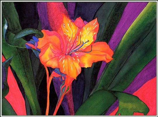 Сара Стил. Перуанская лилия