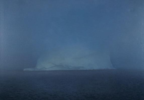 Gerhard Richter. Iceberg in the fog