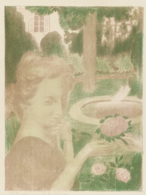 Maurice Denis. Morning bouquet, the tears...