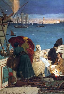 Pierre Cecil Puvi de Chavannes. Plot 18