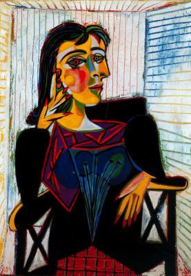 Pablo Picasso. Portrait Of Dora Maar