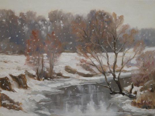 Valery Fedorov. Frozen river