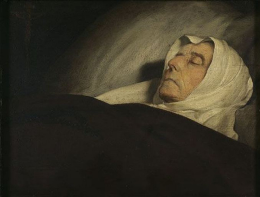 Jan Livens. Death (co-authored with Rembrandt van Rijn)