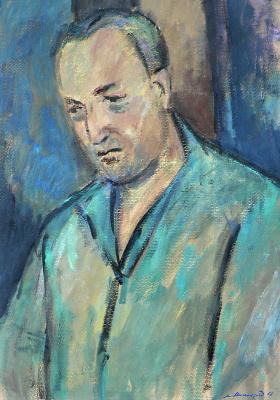 """Меер Моисеевич Аксельрод. """"Узник"""" - портрет Александра Печерского"""