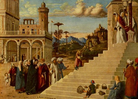 Giovanni Battista Cima da Conegliano. The presentation of the virgin