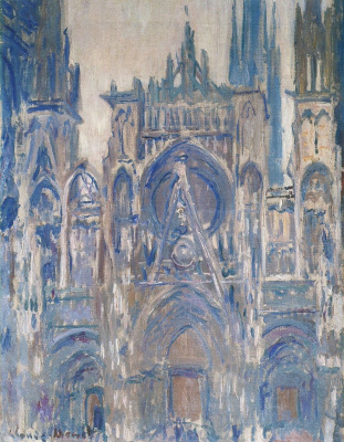 Клод Моне. Руанский собор, этюд главного входа