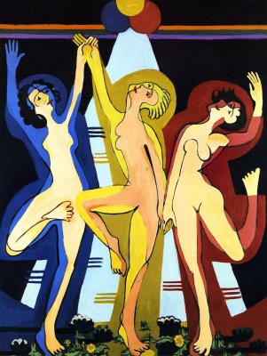 Ernst Ludwig Kirchner. Dance