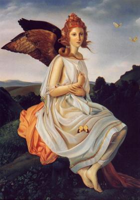 Дэвид Бауэрс. Девушка с черными крыльями