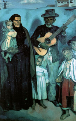 Эмиль Бернар. Гитара