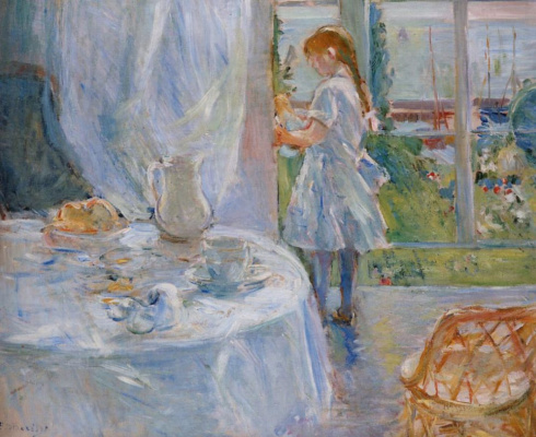 Berthe Morisot. The interior of the house or the interior of the Jersey