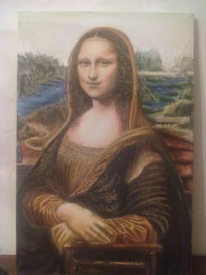 Кенан Мамедов. Mona liza ....prodaiu za 50 000 $