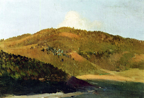 Isaac Levitan. On the tops of the Plateau