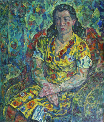 Ivan Ivanovich Filichev. Portrait of the wife