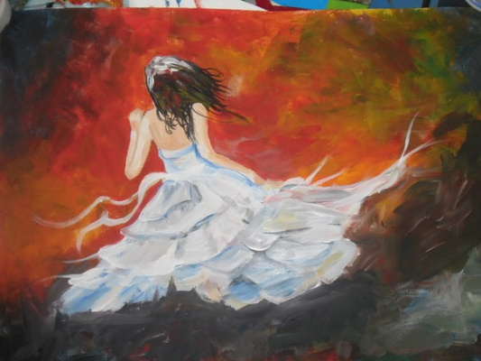 Svetlana. Девушка на ветру