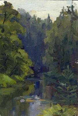 Svetlana Holodnyak. Slow River