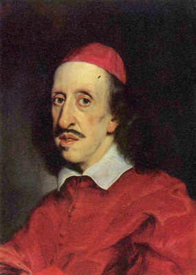 Франческо Убертини. Портрет кардинала Леопольдо