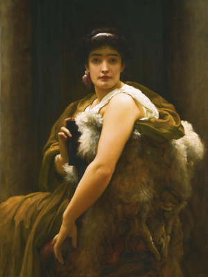 Frederic Leighton. Between hope and fear