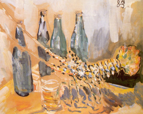 Anatoly Zverev. Lobster and beer