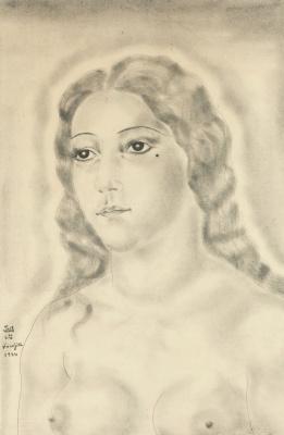 Цугухару Фудзита (Леонар Фужита). Женский портрет