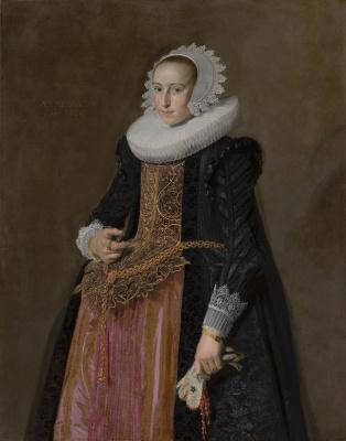 France Hals. Portrait Of Aletta Hanemans