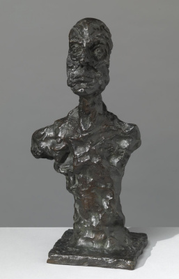 Alberto Giacometti. Bust of a Man (known as Chiavenna I)
