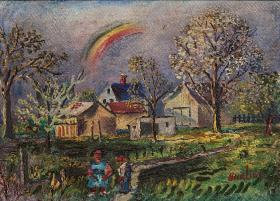 David Davidovich Burliuk. Rainbow